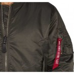 ΤΖΑΚΕΤ ALPHA MA-1 FLIGHT REP. GREY Jacket-Μπουφαν