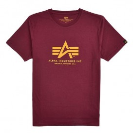 T-SHIRT ALPHA BASIC BURGUNDY