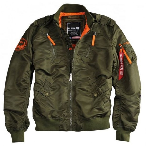 ΤΖΑΚΕΤ ALPHA FALCON II DARK GREEN Jacket-Μπουφαν