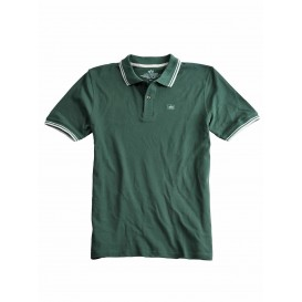 POLO ALPHA TWIN STRIPE II DARK PETROL