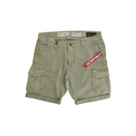ΒΕΡΜΟΥΔΑ ALPHA CREW LIGHT OLIVE