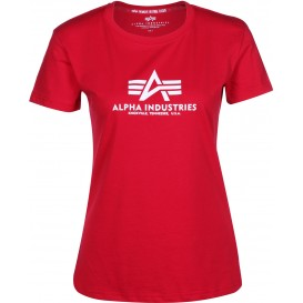 T-SHIRT ALPHA NEW BASIC ΓΥΝΑΙΚΕΙΟ SPEED RED