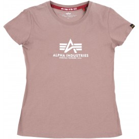 T-SHIRT ALPHA NEW BASIC ΓΥΝΑΙΚΕΙΟ MAUVE