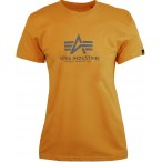 T-SHIRT ALPHA NEW BASIC Wmn WHEAT T-shirt
