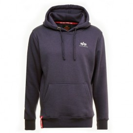 ΦΟΥΤΕΡ ALPHA INDUSTRIES BASIC HOODIE SM.LOGO NIGHTSH.