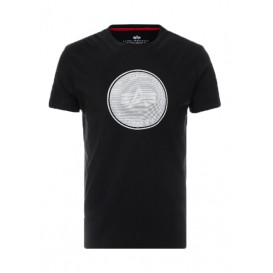 T-SHIRT ALPHA HOLOGRAM T BLACK