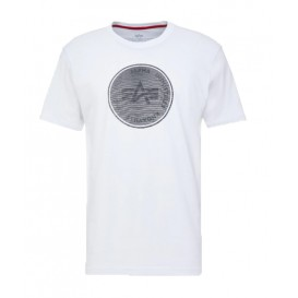 T-SHIRT ALPHA HOLOGRAM T WHITE