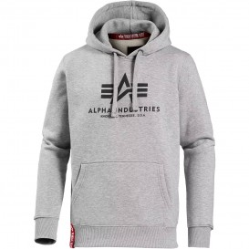ΦΟΥΤΕΡ ALPHA INDUSTRIES BASIC /ΚΟΥΚΟΥΛΑ GREY HEATHER