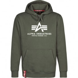 ΦΟΥΤΕΡ ALPHA INDUSTRIES BASIC /ΚΟΥΚΟΥΛΑ DARK GREEN