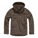 ΜΠΟΥΦΑΝ BRANDIT WINDBREAKER BROWN Jacket-Μπουφαν