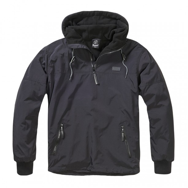ΤΖΑΚΕΤ BRANDIT WINDBREAKER LUKE BLACK Jacket-Μπουφαν