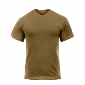 T-SHIRT ROTHCO BROWN US MILITARY
