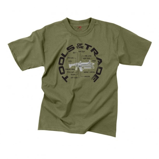 T-SHIRT ROTHCO TOOLS OF THE TRADE T-shirt