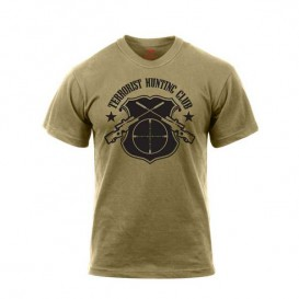 T-SHIRT ROTHCO TERRORIST HUNTING CLUB