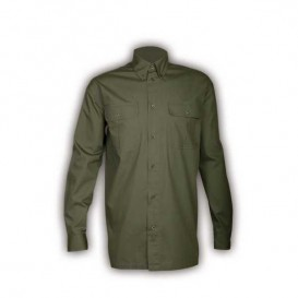 ΠΟΥΚΑΜΙΣΟ TOXOTIS 100% COTTON OLIVE GREEN