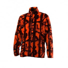 FLEECE ΖΑΚΕΤΑ TOXOTIS MICRO CAMO ORANGE