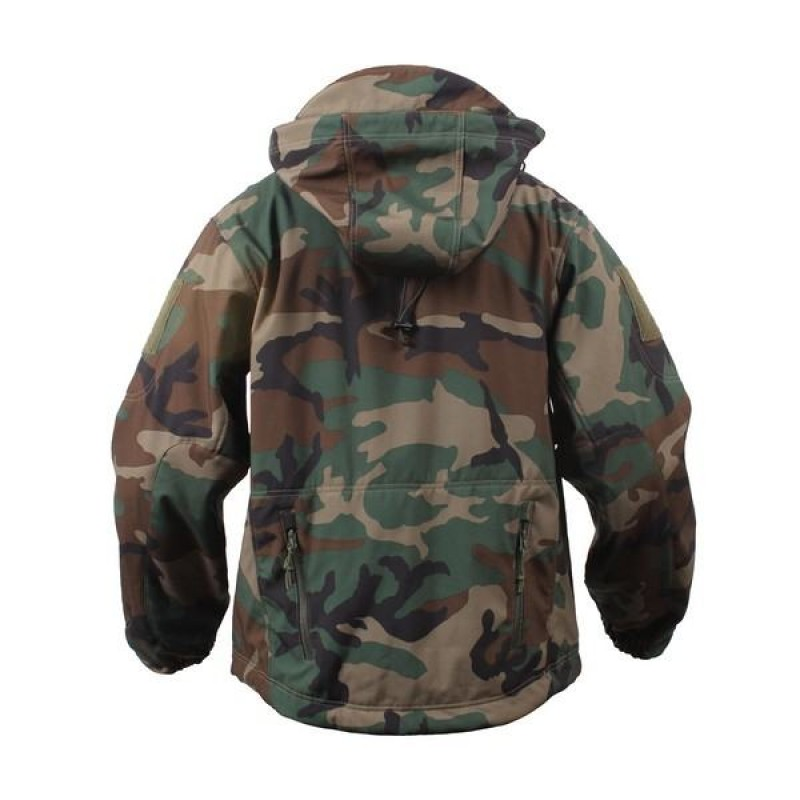 ed51713ef Rothco Special Ops Tactical Soft Shell Jacket woodland camo